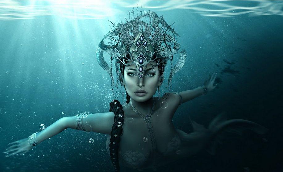 Merely a mermaid by Maya Foxx Pawpad
