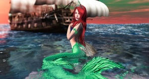 The Little Mermaid by Urban Studios