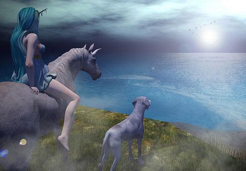 Last Unicorn Q Poses