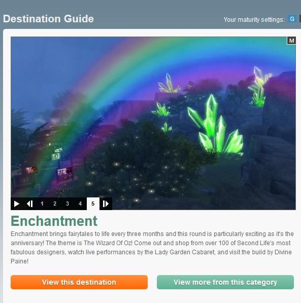 Enchantment Destination Guide