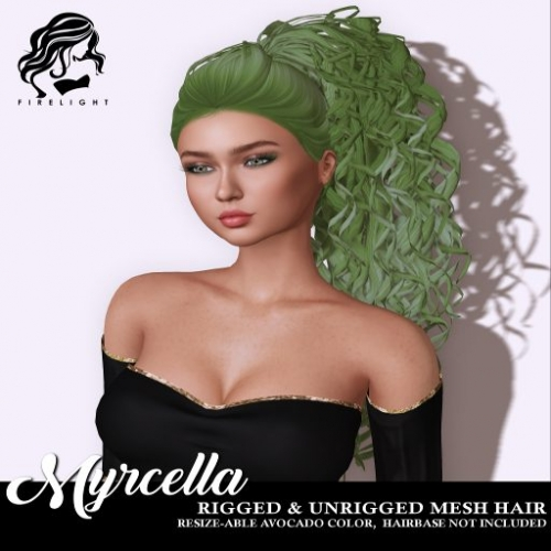 Firelight Myrcella Avocado Hair at Firelight Idunn Satelite Store